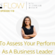 How to assess your performance as a business leader   InFlow with Michelle Bosch   Episode 118