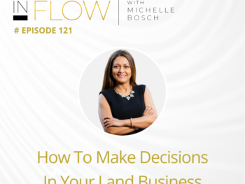How To Make Decisions In Your Land Investing Business | The InFlow Podcast With Michelle Bosch