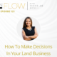 How To Make Decisions In Your Land Investing Business   The InFlow Podcast With Michelle Bosch